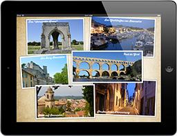 Travel Appetizer App Beaucaire Plopup Sehenswürdigkeiten Collage, gestaltet von Travel Appetizer