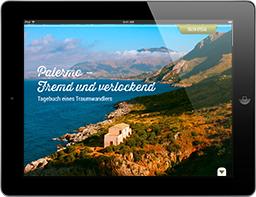 Ambiente Mediterran iPad-Magazin Paket L Palermo, Italien, Travel Appetizer